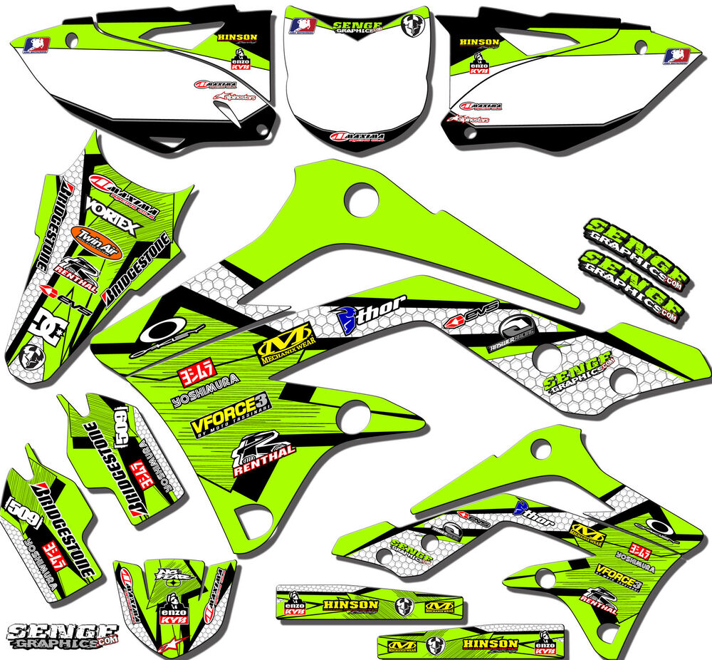 All years kx 60 graphics kit kawasaki kx60 85 04 deco for Sticker deco