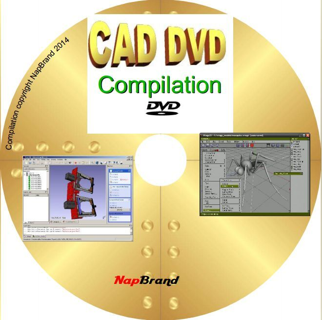 CAD FreeCAD BRL 2D 3D Modelling Animation16 Great Programs