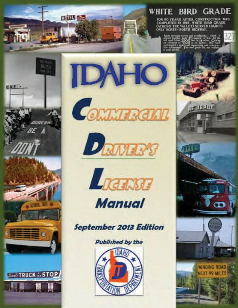 Commercial Driver Manual For Cdl Training Idaho On Cd In Manual Guide