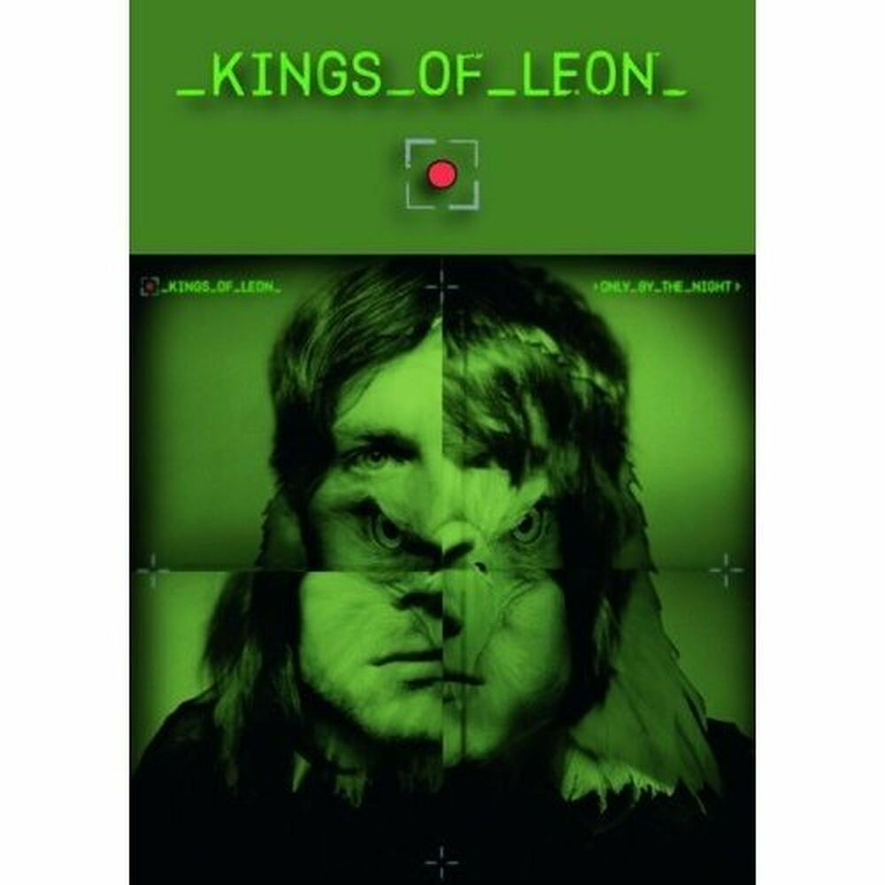Kings Of Leon Green UK Only By The Night Postcard Album ...