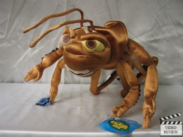 Hopper poseable plush, A Bug's Life; Applause NEW ...
