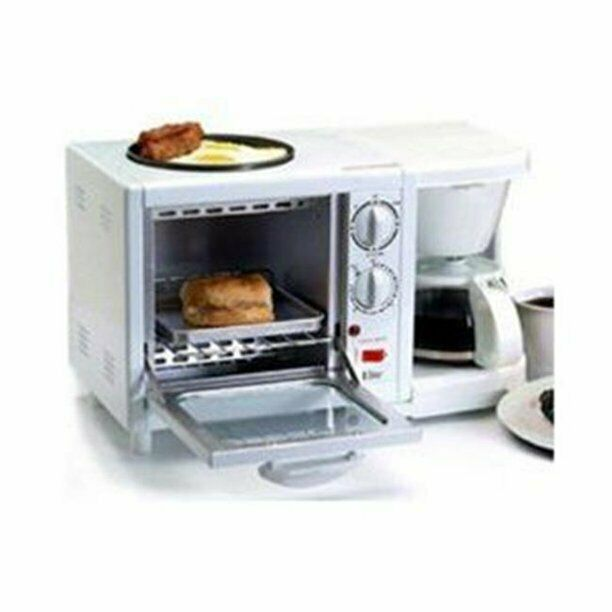 IN 1 BREAKFAST STATION KITCHEN WITH COFFEE MAKER AND GRIDDLE WHITE ...