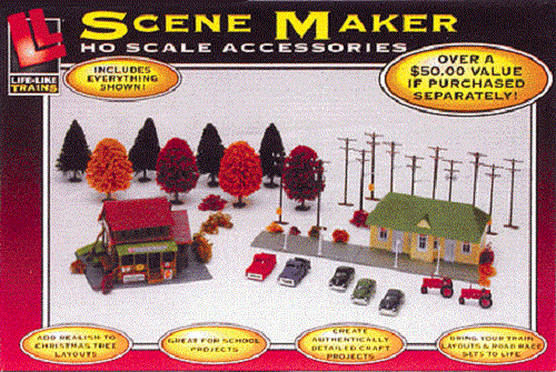 Life-Like Trains HO Scale Golden Thunder Electric Train ...  |Life Like Trains And Accessories
