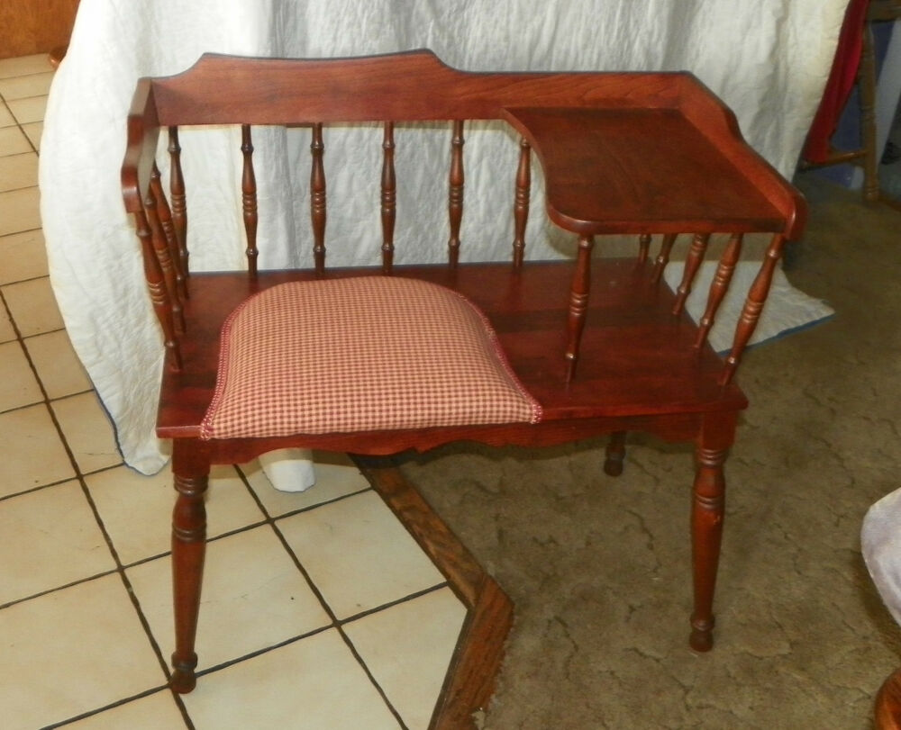 Cherry Telephone Bench Gossip Bench Bn5 Ebay