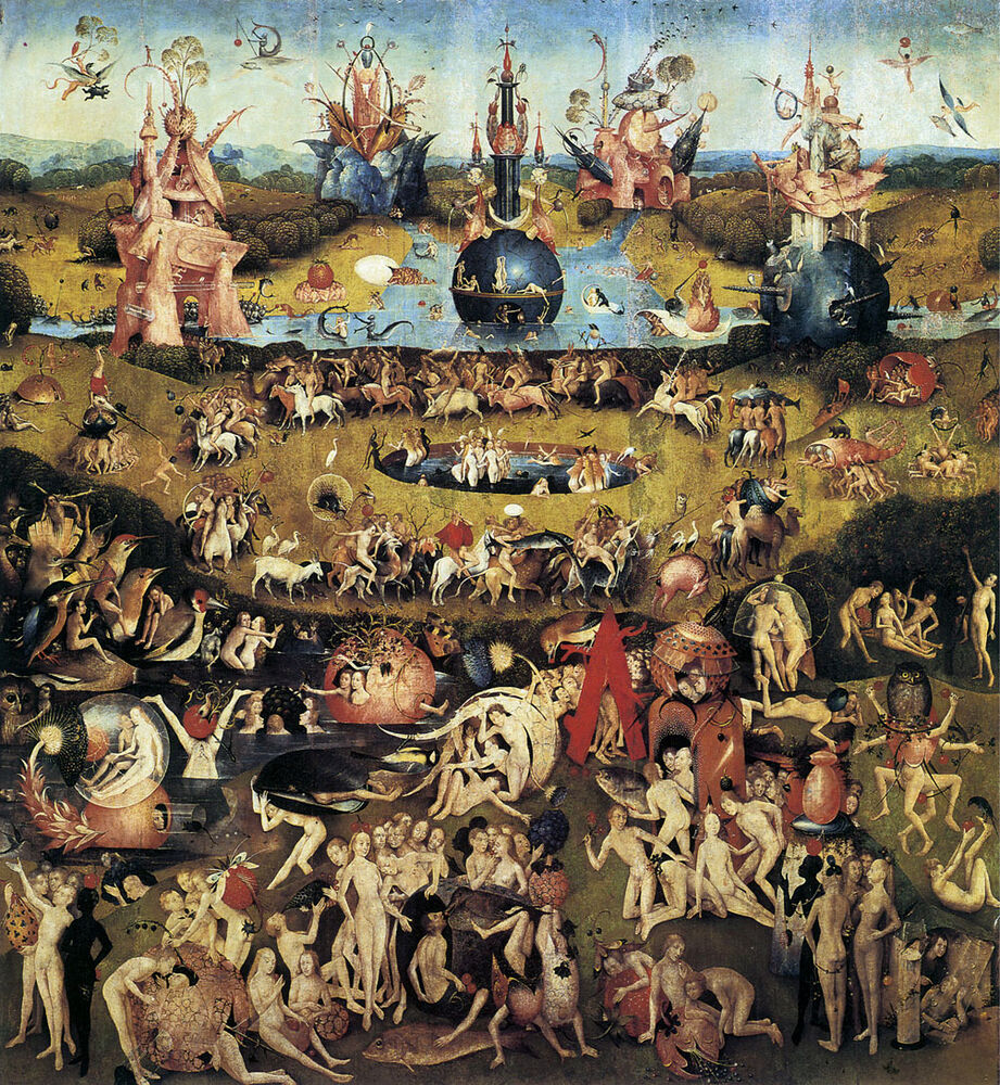 Garden of earthly delights 1510 by hieronymus bosch - Hieronymus bosch garden of earthly delights ...