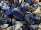 Sodalite Rough - Very High Quality - 500 Carats + A FREE Faceted Gemstone