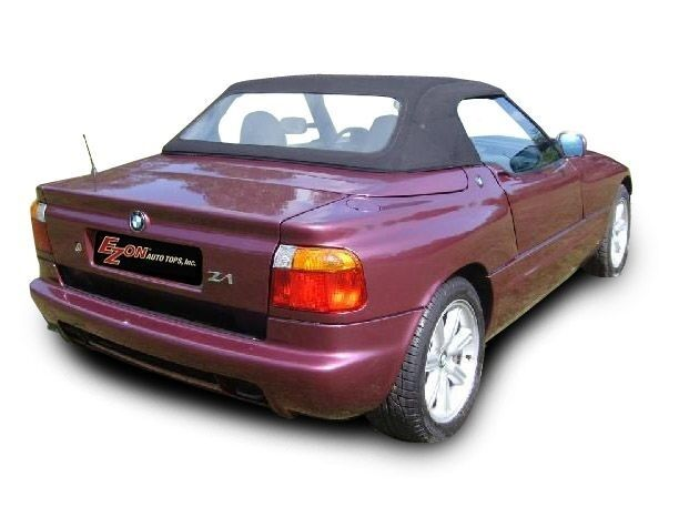 bmw z1 convertible top with plastic window 1989 1990 1991 ebay. Black Bedroom Furniture Sets. Home Design Ideas