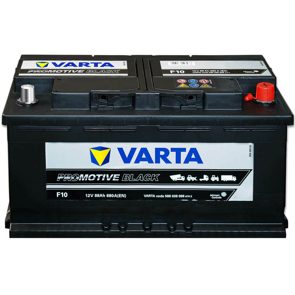 autobatterie 12v 88ah shd rf schlepper traktor varta. Black Bedroom Furniture Sets. Home Design Ideas