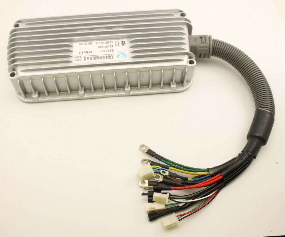 60v 5000w electric bicycle brushless motor speed for Ev ac motor controller