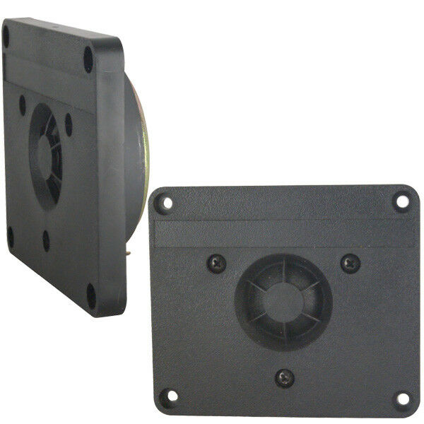 2pcs philips 3x3 5 dome tweeter made in belgium ebay. Black Bedroom Furniture Sets. Home Design Ideas