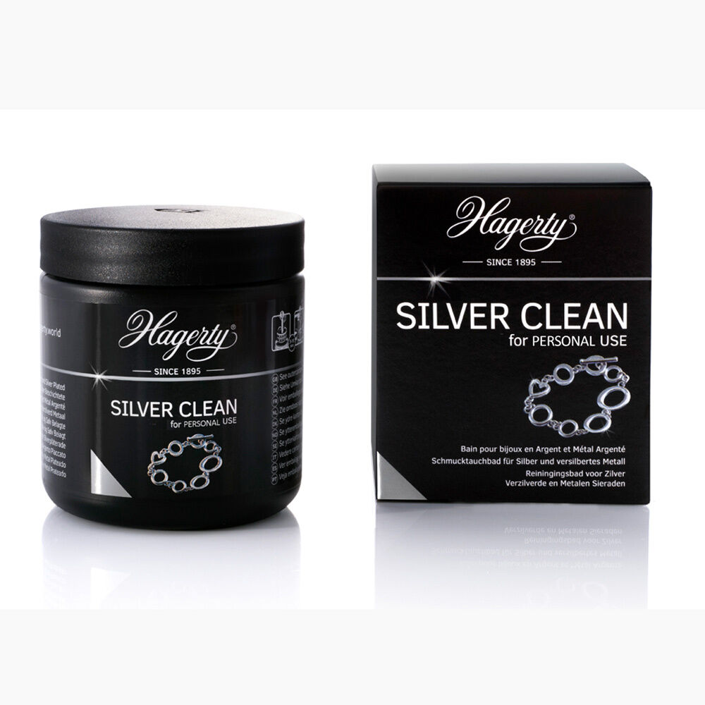 hagerty silver clean 170ml spezielles bad f r silberschmuck silber reinigen 4260439232700 ebay. Black Bedroom Furniture Sets. Home Design Ideas