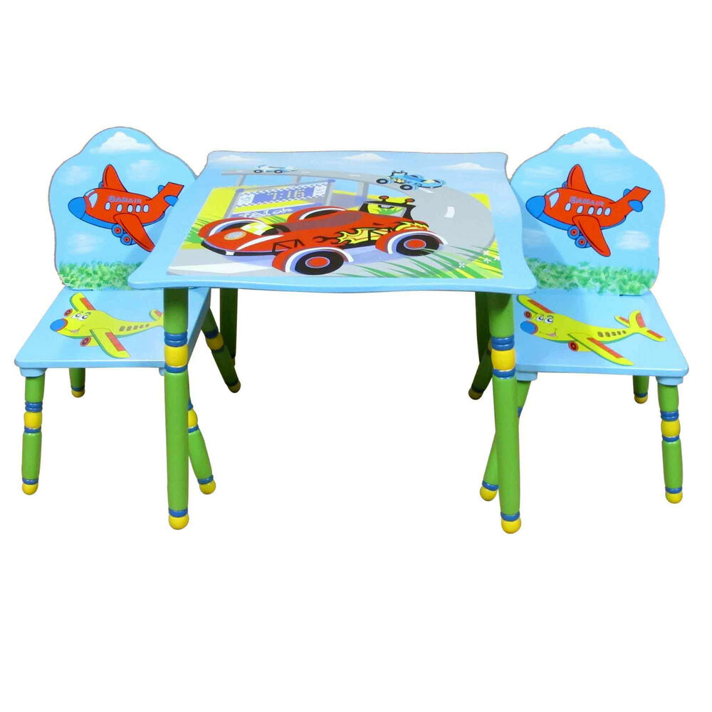 Disney Pixar Cars Table And  Chairs