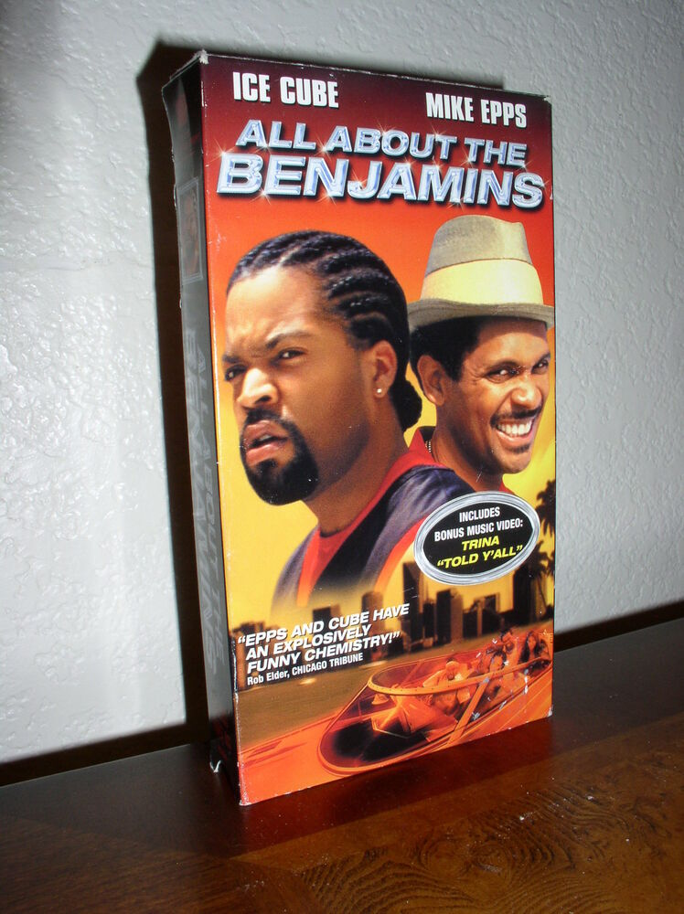 All About The Benjamins Starring Mike Epps & Ice Cube (VHS