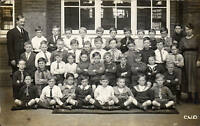 ? Leytonstone. Norlington Road School Group by C. W. D. / Daeth.