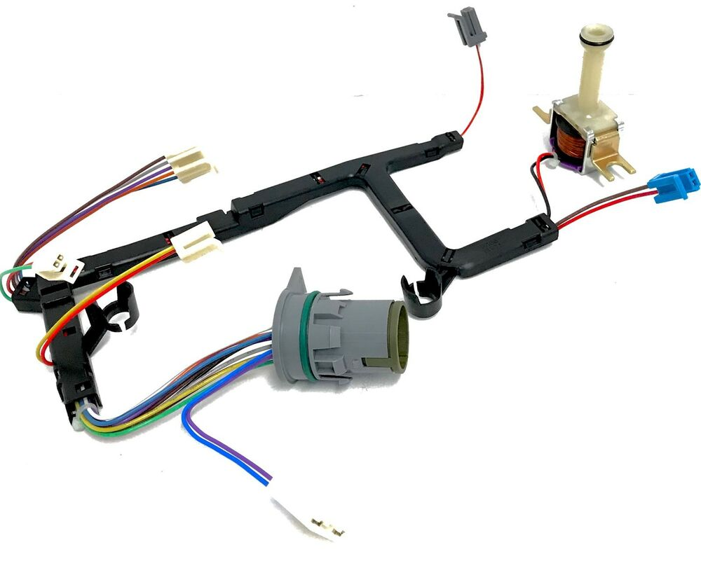 4l60e transmission internal wire harness with tcc lock up ... 4l60 lock up wiring diagram 4l60e lock up wiring diagram