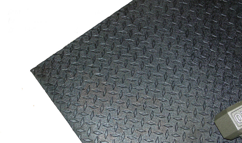 1 2 Quot X 4 X 6 Rubber Gym Mat For Commercial Or Home Use