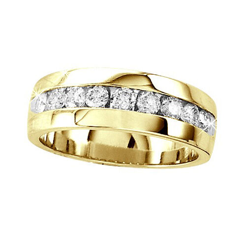 mens wedding rings gold 14k yellow gold mens comfort fit wedding band 5816