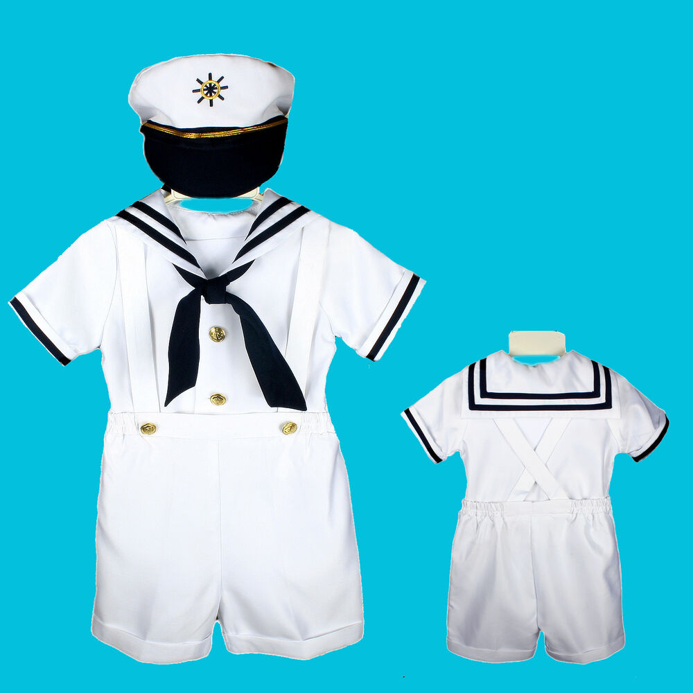 New Baby Boy Amp Toddler Easter Sailor Formal Party Suit