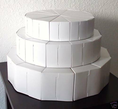 wedding cake slice boxes uk 3 tier cake slice favors box boxes wedding shower baby ebay 24906