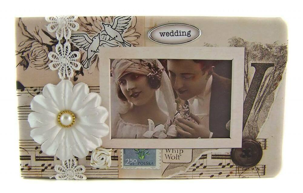 Stunning 5 Quot X 7 Quot Scrapbook Photo Album Wedding