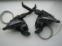 Shimano EZ fire 7 & 3 speed bike cycle  brake lever and gear shifters ST-EF65-7
