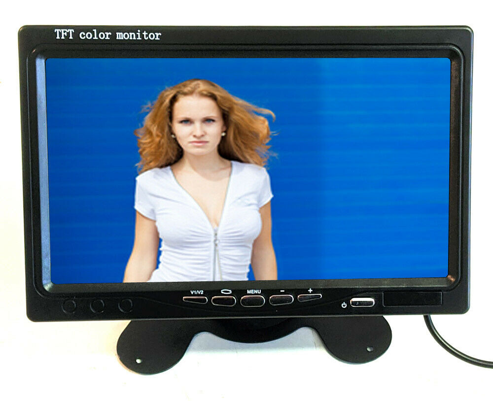 7 17 8cm kfz auto tft lcd video audio monitor f r. Black Bedroom Furniture Sets. Home Design Ideas