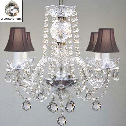 Murano Venetian Style All Crystal Chandelier W Crystal