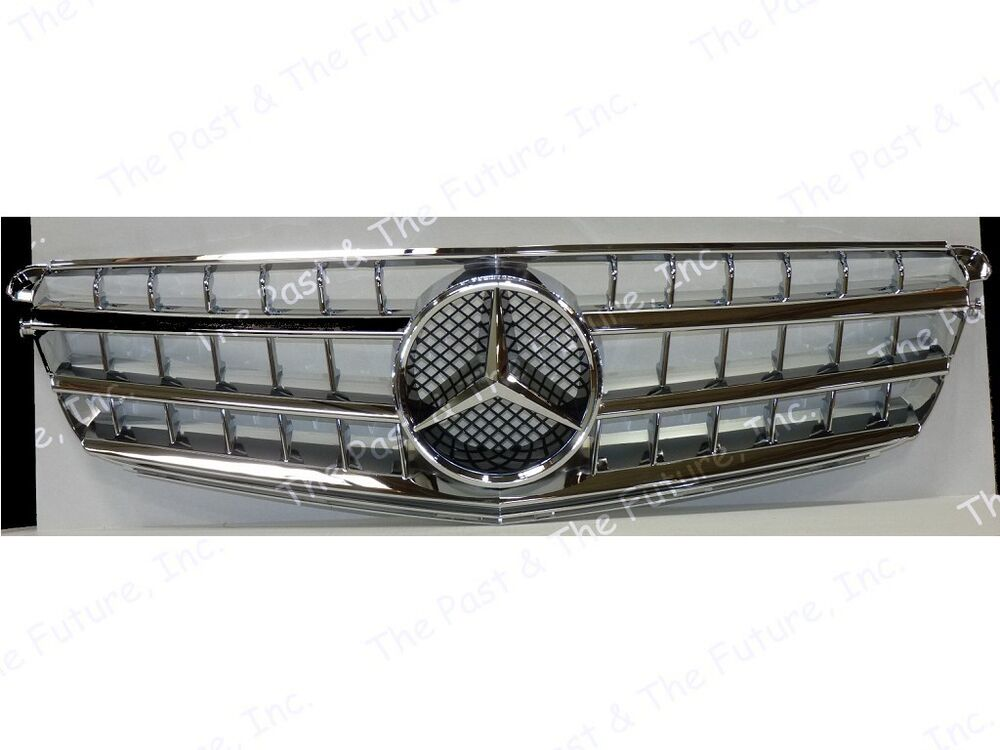 2008 2009 2010 2011 2012 mercedes benz c class w204 style for Mercedes benz chrome accessories