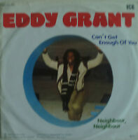 """7"""" 1981 KULT ! EDDY GRANT Can´t Get Enough Of You /VG+"""