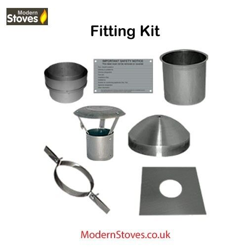 Flexible Flue Liner Installation Kit 7 Piece For 6