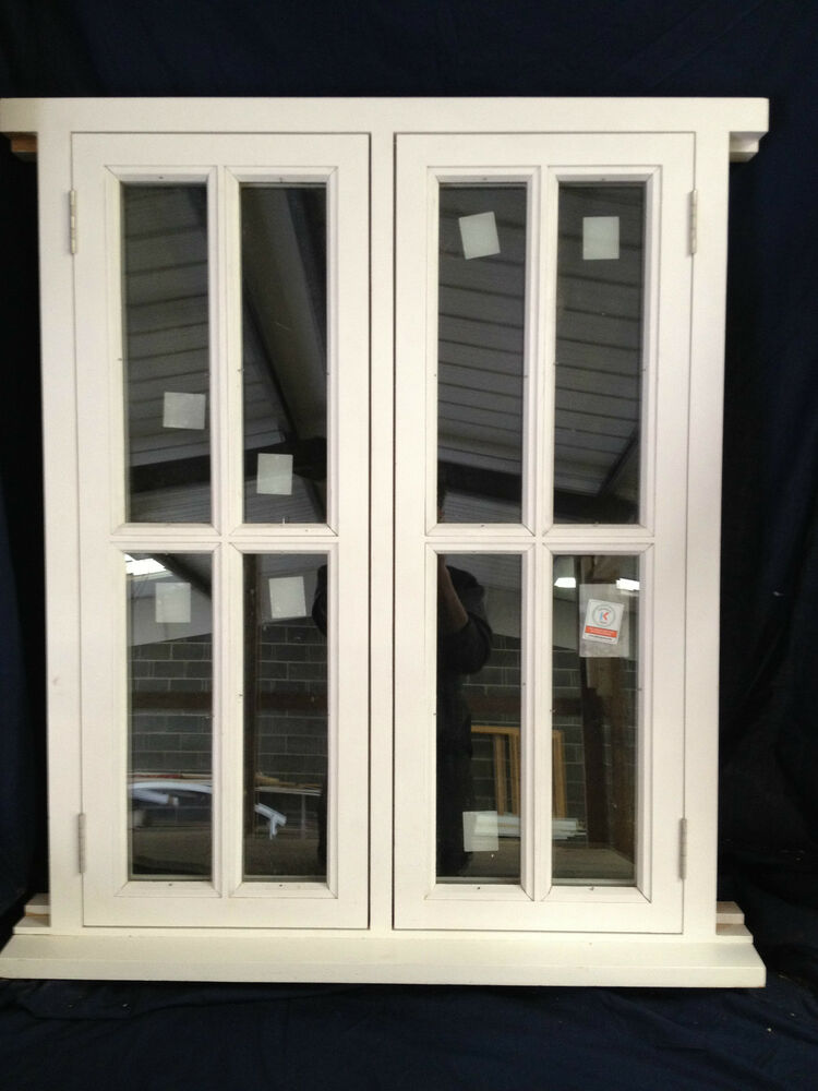 Wooden Double Glazed Cottage Style Timber Window Made To