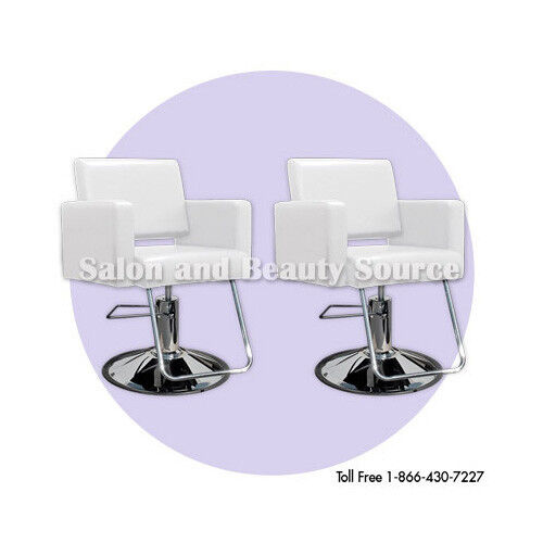 White styling chair beauty salon equipment furniture for Beauty spa equipment