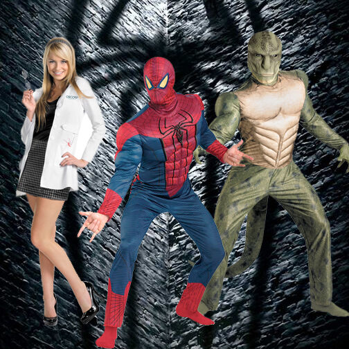 Adult Marvel Comics Movie The Amazing Spider-man Muscle ...