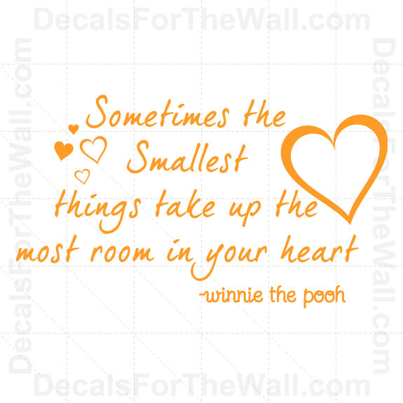 Winnie The Pooh Quotes Sometimes The Smallest Things: Sometimes The Smallest Things Take Up Most Winnie Pooh