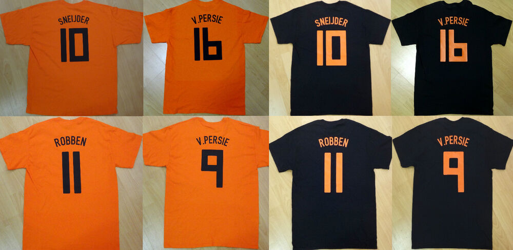classic fit 98e64 fe437 2014 world cup holland 10 sneijder home soccer shirt kit