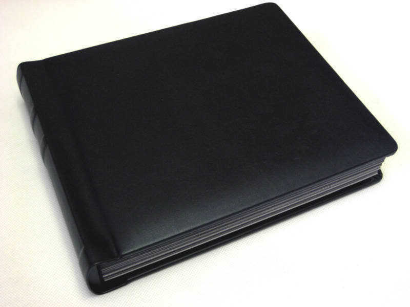 landscape 5x7 black self mount photo album 30 pages engraving available ebay. Black Bedroom Furniture Sets. Home Design Ideas