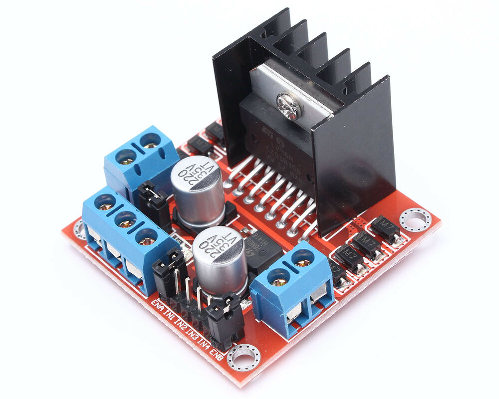 L298n Dual H Bridge Dc Stepper Motor Drive Controller Board Module Regulator Using L200 Electronic Circuits And Diagramelectronics For Arduino 799491356566 Ebay