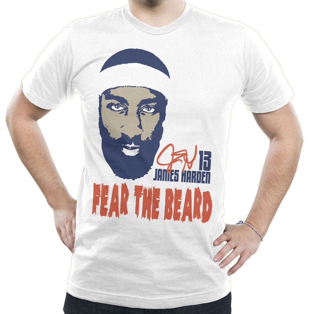 FEAR THE BEARD T-Shirt James Harden Oklahoma City Thunder