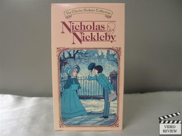 nicholas nickleby vhs animated childrens video library