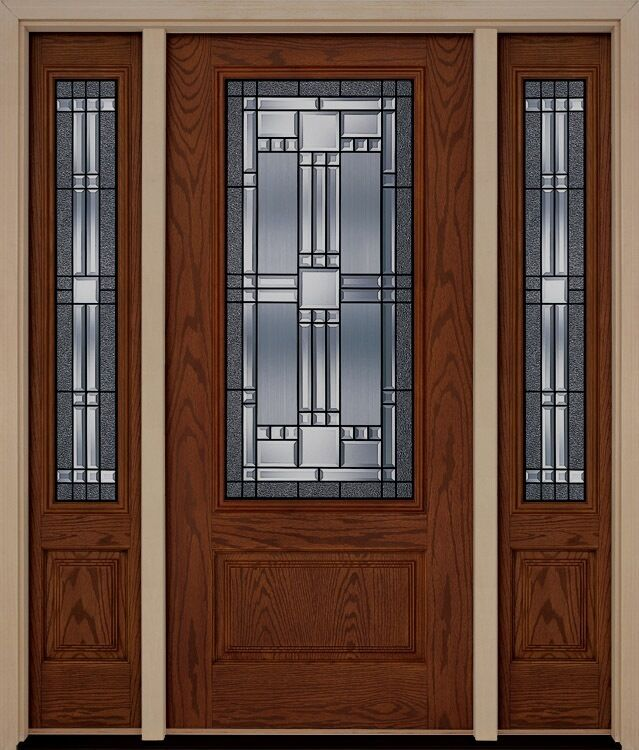Fiberglass exterior elegant front entry door two for Elegant front doors