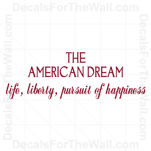 pursuit of the american dream in Assessment students will be given one semester to complete this projectthey are required to write an 8-page response paper on the selected authors.