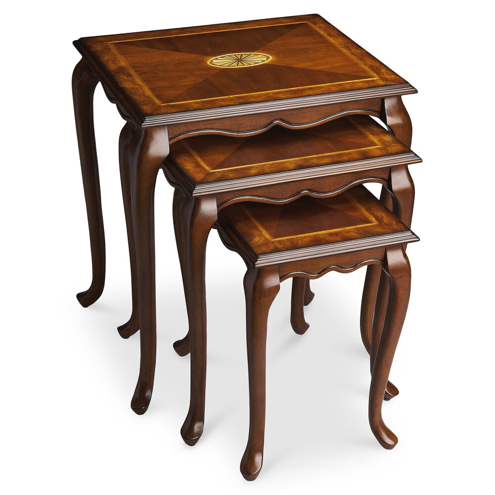 BLAKELY INLAID NESTING TABLES