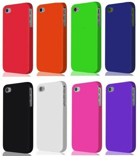 ... GEL FLEXIBLE RUBBER SKIN COVER POUCH CASE HQ FOR IPHONE 4 4S 4S | eBay