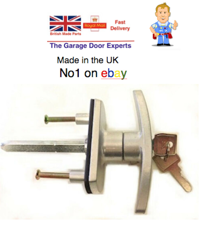 NEW 'Henderson Merlin Garage Door Spares T Bar Lock Handle ...