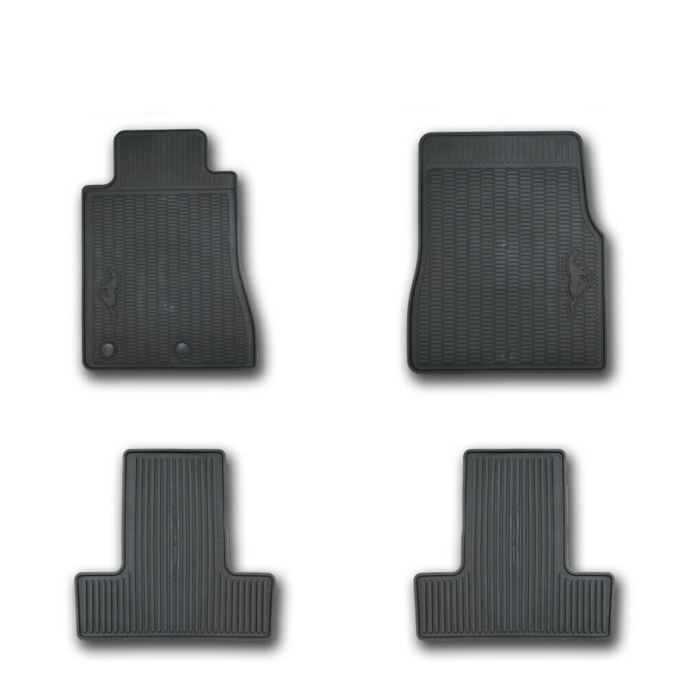 Oem new 2011 ford mustang all weather vinyl floor mats for 1967 ford mustang floor mats