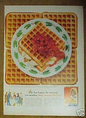 how to make waffles with aunt jemima pancake mix