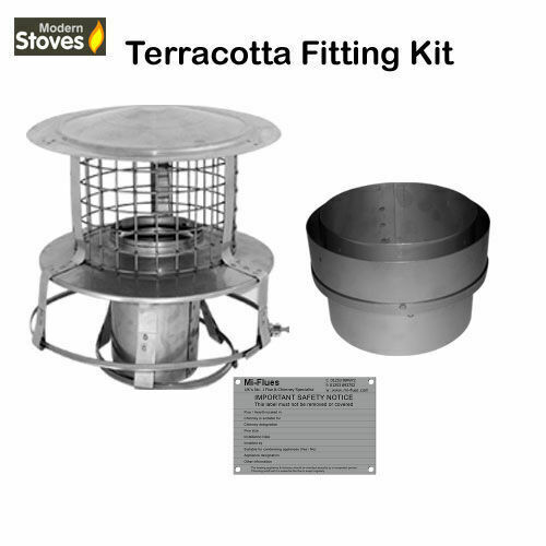 Flexible Flue Liner Installation Kit For Terracotta