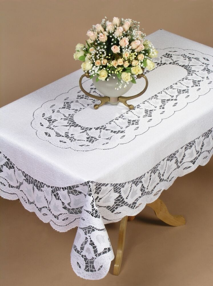 Protect your furniture with style - lace tablecloths or a vinyl tablecloth are functional and attractive. Get microfiber tablecloths, laminated tablecloths & more at celebtubesnews.ml Buy now.