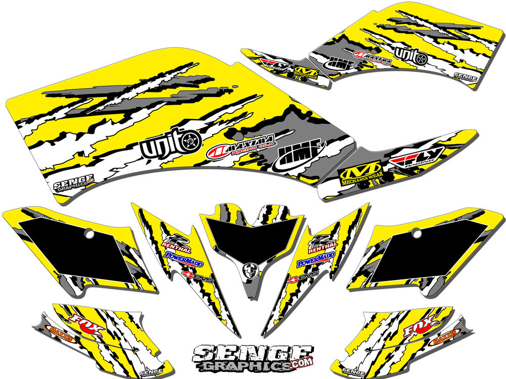 Can am can am ds90 ds 90 graphics kit atv stickers decals for Stickers deco