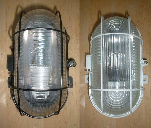 Outside Lights No Earth: Double Insulated Class 2 Bulkhead Outdoor Light Porch